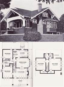 1920s Craftsman Home Design Plans Bungalow Studio Design Gallery Best Design
