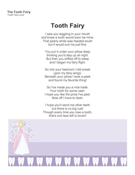 Tooth Fairy Letter Template Word Apology Note Tooth Fairy Certificate Template Free Top 25 Letter Poem Template