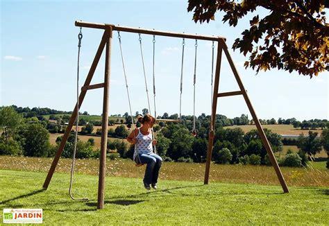 Balancoire Adulte Bois by Portique Balan 231 Oire Bois Galdar 3 25 M Soulet