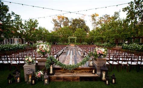Garden Wedding Reception by Bohemian Outdoor Garden Wedding Ceremony Rustic