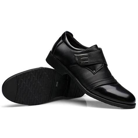 business shoes c men hook loop genuine leather formal business shoes us 42 36