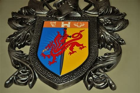 Coat Of Arms Decorations by 3d Wall Coat Of Arms Eclectic Decor