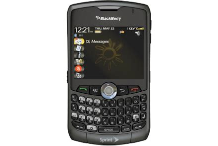 Blackberry 8330 Curve Full Phone Specifications Manual