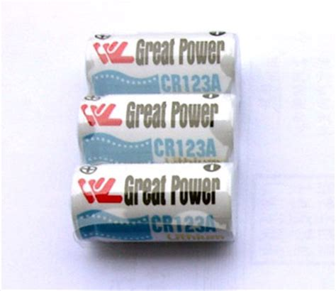 Batrei Cr123a Limited cr123a battery from china manufacturer great power battery co ltd