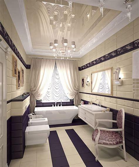 purple and cream bathroom 20 stunning art deco style bathroom design ideas
