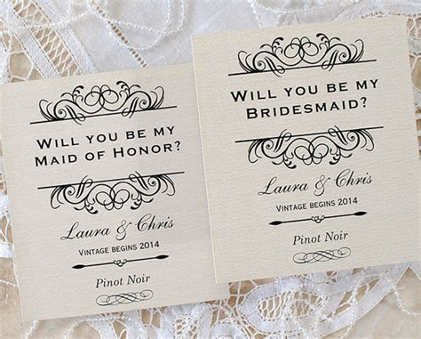 will you be my of honor template will you be in my wedding the best way to pop the next