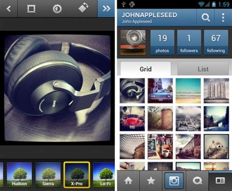 Play Store Likes For Instagram Instagram Android App Debuts In Play Store