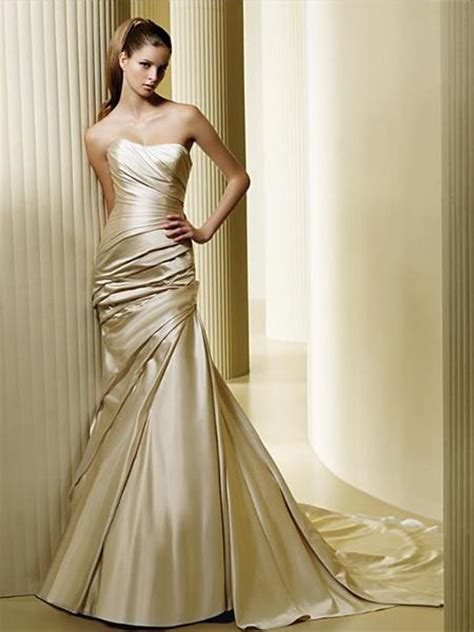 Gold Wedding Dresses by Gold Wedding Accents Are New Again Houston Wedding