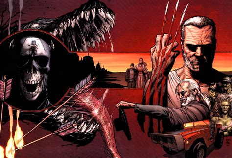 wolverine old man logan mark miller says fox s old man logan doesn t need those other marvel characters