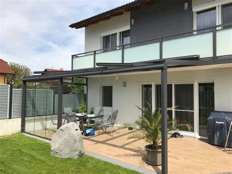 glasüberdachung terrasse terrassen glas 252 berdachung wintergarten aus aluminium