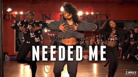 tutorial dance rihanna get the tutorial http tmillytutorials com neededme