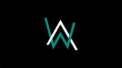 wallpaper keren 240x400 2048x1152 alan walker logo 4k 2048x1152 resolution hd 4k