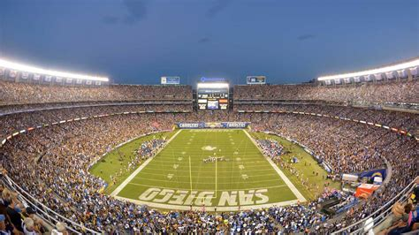 where is san diego chargers stadium chargers stadium and padres managerial search discussed