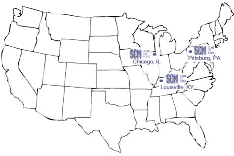 us map states kentucky second city metals locations