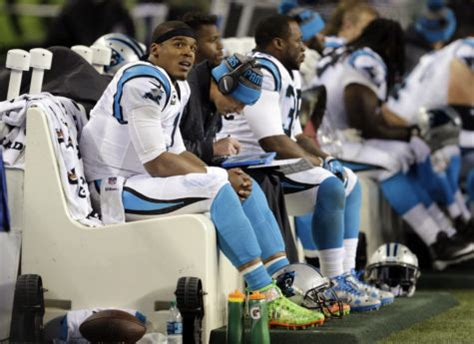 cam newton bench rumor has it that cam newton s benching on sunday was