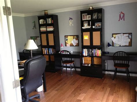 Turning Living Room Into Home Office Turned The Formal Living Room Into A Family Office Now It
