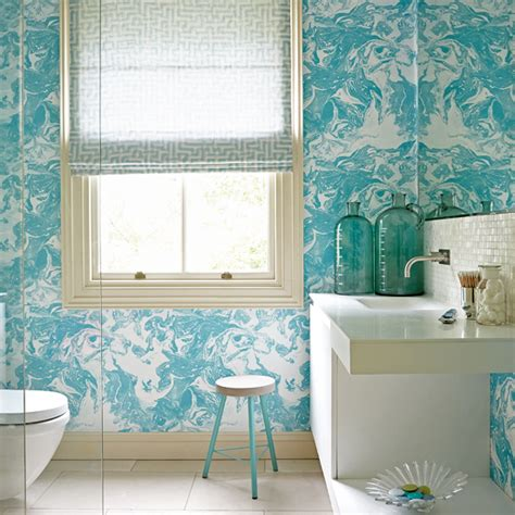 wallpaper trends for bathrooms the latest wallpaper trends ideal home