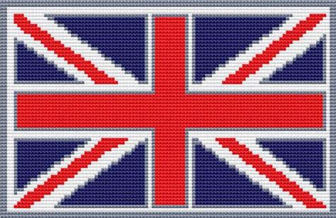 crochet pattern union jack cross stitch patterns patriotic flags union jack flag