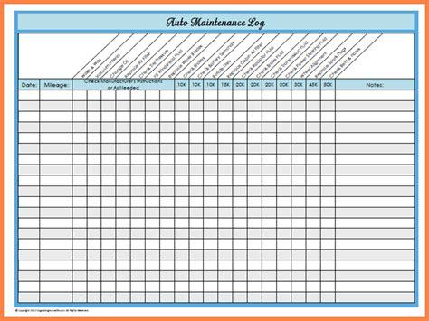Auto Maintenance Schedule Spreadsheet by 7 Car Maintenance Schedule Spreadsheet Costs Spreadsheet