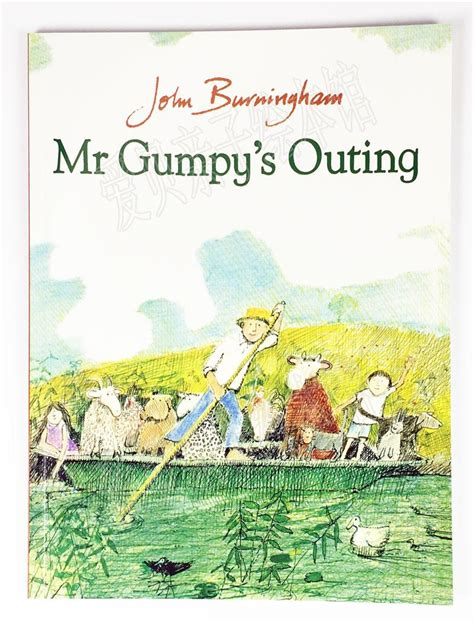 mr gumpys outing 0099408791 mr gumpy s outing 和甘伯伯去游河 爱贝亲子绘本馆 爱贝好租网