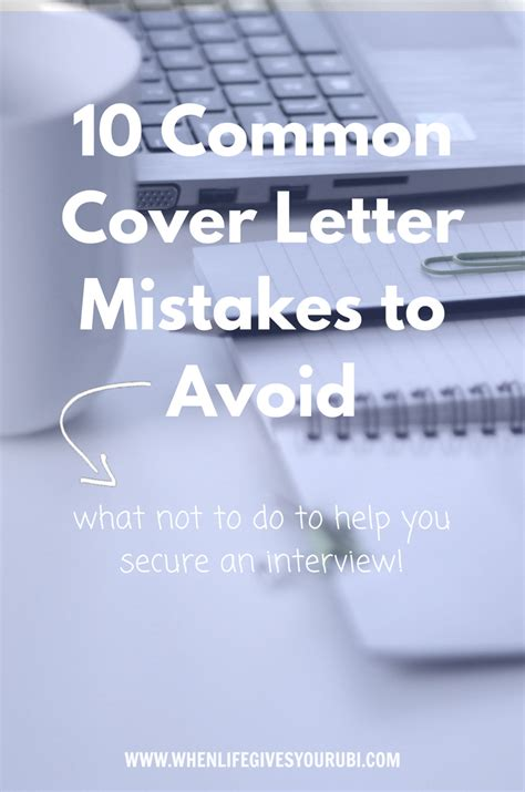 cover letter mistakes 67 best marketing resumes images