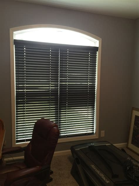 Graber Cordless Blinds cordless wood blinds installed in clarksville