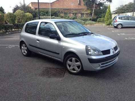 Renault Clio 2006 by Used Renault Clio 2006 Petrol 1 2 Cus 3dr Free