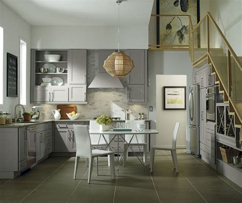 Cabinet Ideas For Kitchens Grey Cabinets In Casual Kitchen Diamond Cabinetry