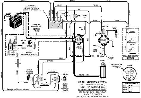 starter solenoid wiring diagram for lawn mower awesome mtd