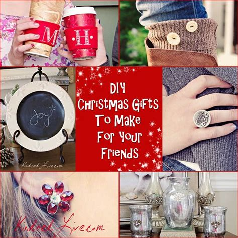 diy christmas gifts you can make for your friends