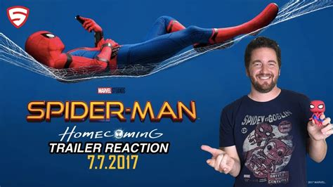 Poster A3 Homecoming V5 spider homecoming official trailer 3 reaction and review