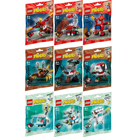 Lego Mixels Series 8 Medix Tribe Mixel Seri Sergio Skrubz Tuth 3 Pcs lego mixels series 8 choice of character one supplied new ebay