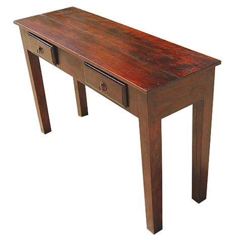 foyer table wood storage drawers console entry way foyer table