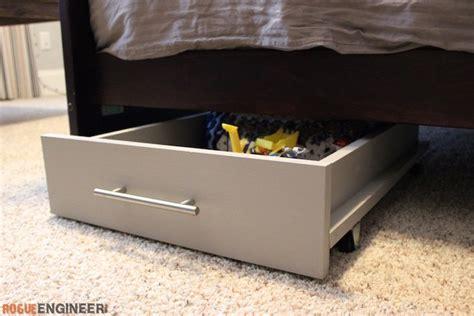 under bed storage diy under bed storage cart 187 rogue engineer