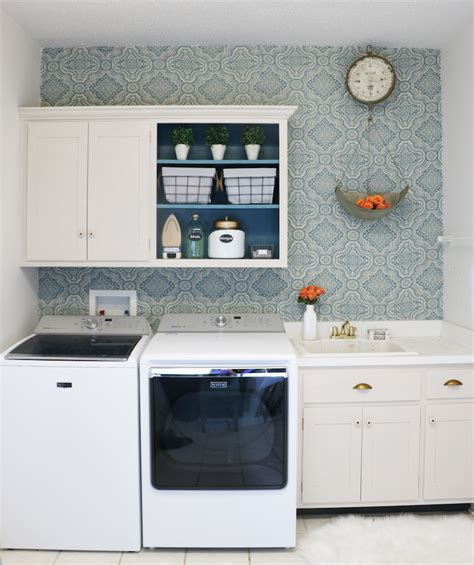 Diy Laundry Room Cabinets Diy Laundry Room Makeover Sincerely D