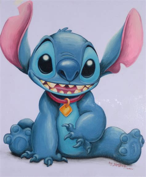 stitches painting stitch by magicwave2003 on deviantart
