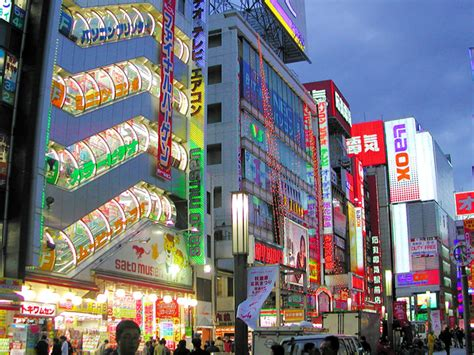 japanese town akihabara electric town 千代田区 japan travellerspoint travel photography