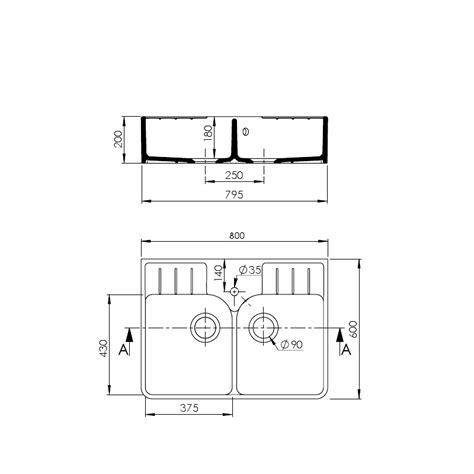 Evier Sarreguemines by Evier C 233 Ramique 2 Bacs Timbre D Office Vendanges Blanc