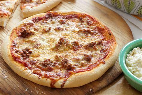 piazza hamburg pizza de carne molida y queso receta comida kraft
