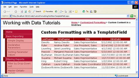 format date boundfield gridview using templatefields in the gridview control vb