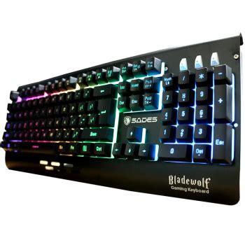 Keyboard Gaming Sades Blade Wolf sades bladewolf blossom toko komputer malang