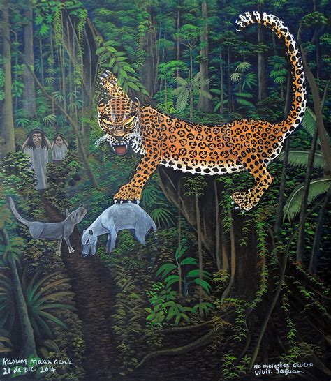 jaguar live i want to live jaguar painting by kayum ma ax garcia