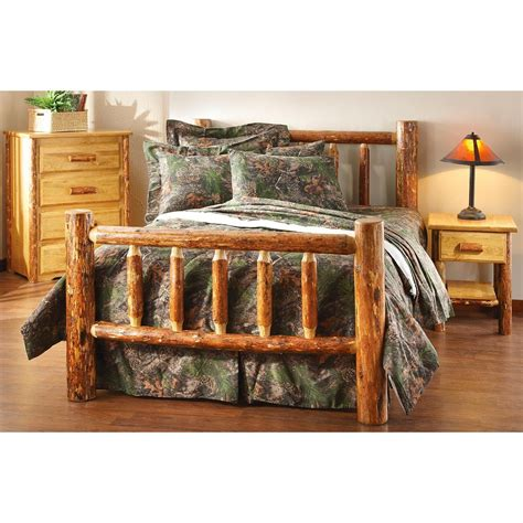 montana woodworks montana woodworks 174 glacier country log bed 195598
