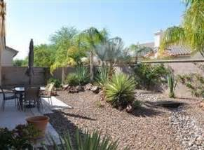 desert landscaping small yard beautiful modern home