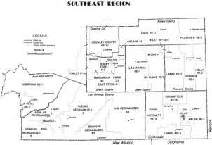 region map southeast cde