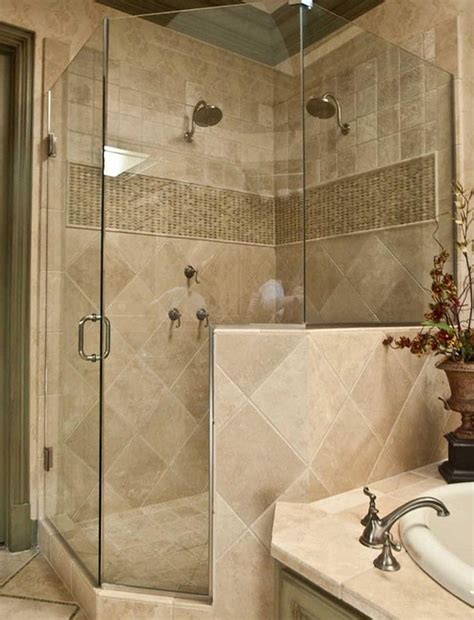 small bathroom remodel with corner shower images 02