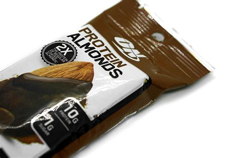protein almonds optimum protein almonds review realistic and rich