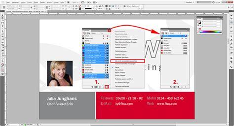 tutorial in design tutorial indesign farben verwenden und ersetzen