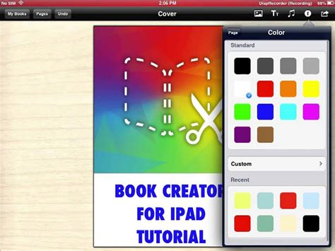 picture book creator book creator for tutorial pt 1