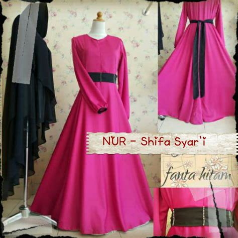 Shifa Set gamis pesta shifa syar i dress by aidha design outlet